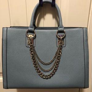 Light blue JustFab handbag